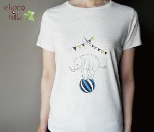 サーカスぞうさんTシャツ