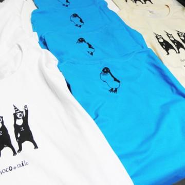 ショコレイルのTシャツたち